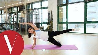 2招核心訓練雕塑腰線 練出性感腹肌馬甲線 VOGUE 健身房 by VOGUE Taiwan