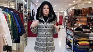 Vídeo Casaco em Lã com Capuz Vãnews Bicolor