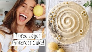 MAKING LEMON POPPY SEED CAKE | Kristin's Kitchen