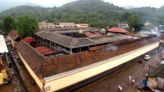 Rainy morning at Mookambika Temple