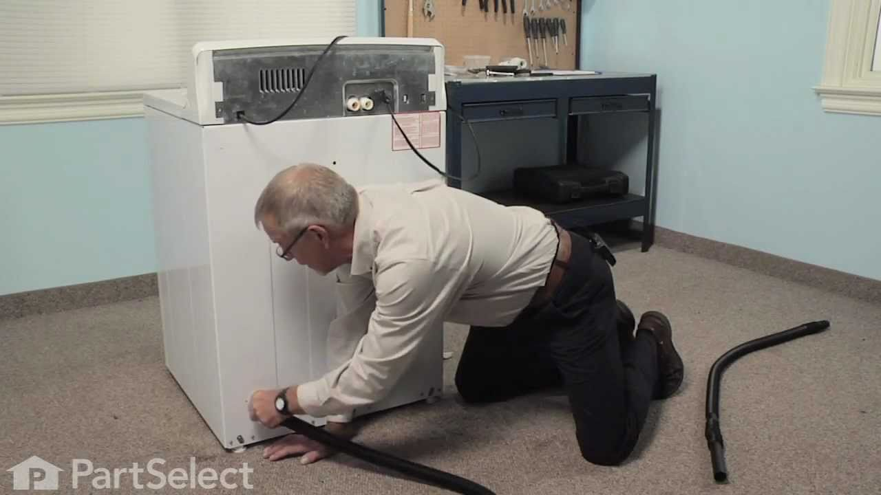 Replacing your General Electric Washer Drain Hose