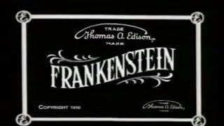 Frankenstein   1910 Silent Horror Film