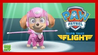 PAW Patrol Pups Take Flight - Flying Time with Skye - Best App For Kids