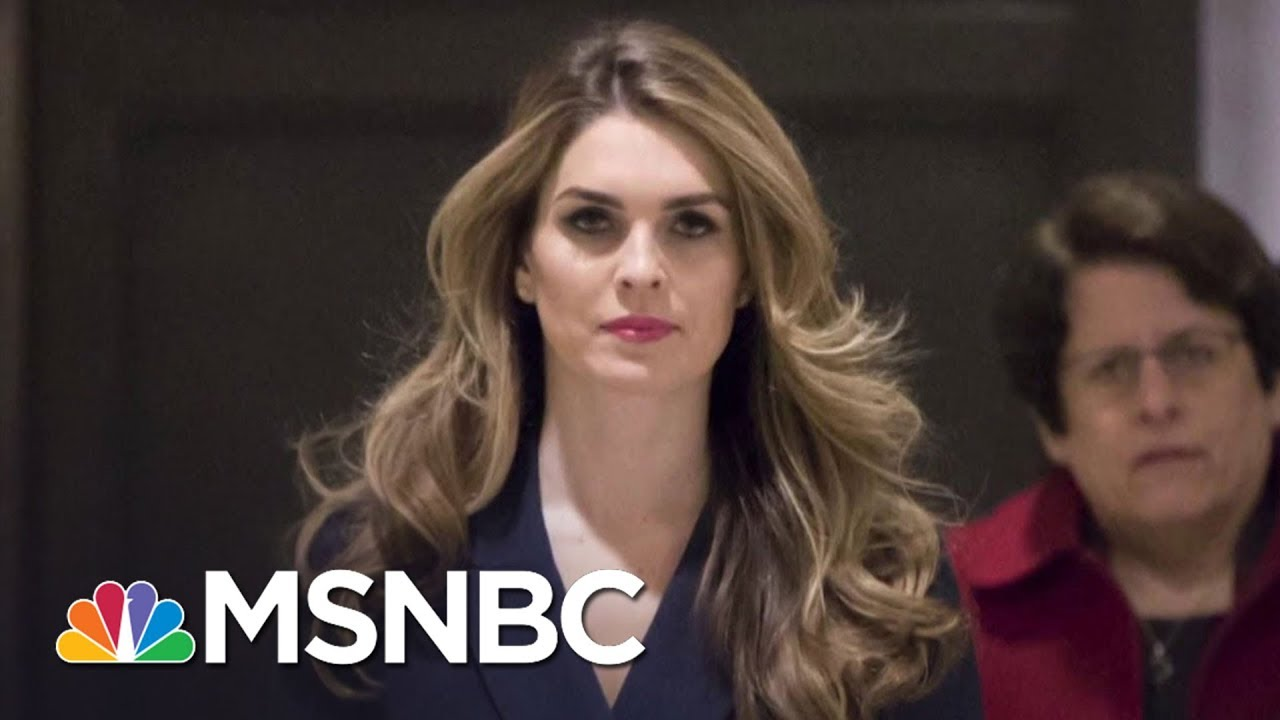 Hope Hicks Reportedly Admits Telling 'White Lies' For President Donald Trump   The Last Word   MSNBC thumbnail