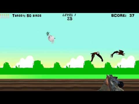 Bird-Hunter A game made using Netbeans