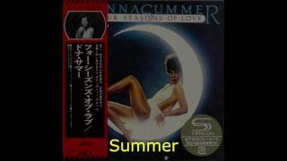 "Donna Summer - Summer Fever LYRICS - SHM ""Four Seasons of Love"" 1976"