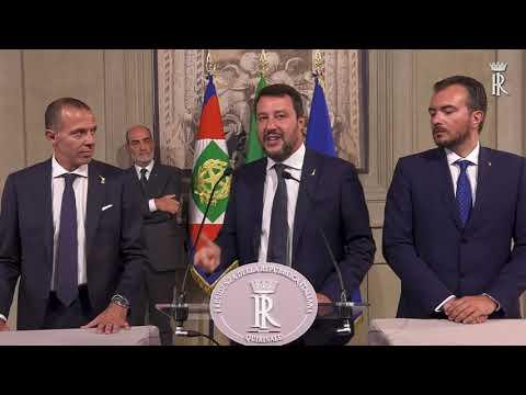 CONSULTAZIONE GRUPPO PARLAMENTARE LEGA SALVINI PREMIER