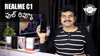 Realme C1 Review with Pros & Cons ll in telugu ll