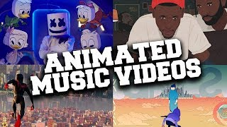 Top 20 Animated Music Videos of 2018