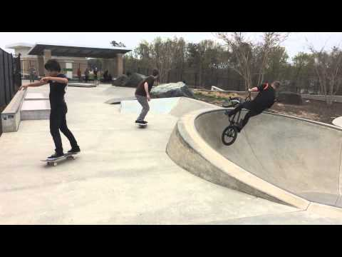 Laurel skatepark Maryland 2015  skateboard Devin Carlson