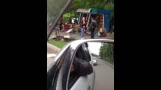 Артем ТВ Полицейская погоня в Артёме закончилась серьёзным ДТП на Комсомольской