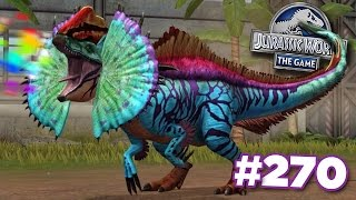 NEW HYBRID ERLIPHOSAURUS! || Jurassic World - The Game - Ep270 HD