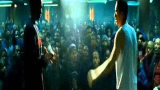 8 Mile (2002) - B-Rabbit vs Papa Doc Scene (HD)