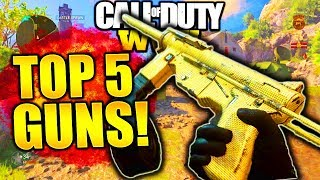 TOP 5 BEST GUNS IN WW2! COD WORLD WAR 2 BEST GUNS! TOP 5 BEST GUNS IN COD WW2 MULTIPLAYER!