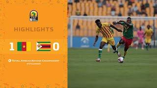 CHAN 2020 | 1er tour – Groupe A :  Cameroun 1-0 Zimbabwe