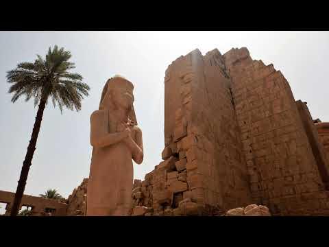 ההיסטוריה מתעוררת לחיים במקדשים של מצרים