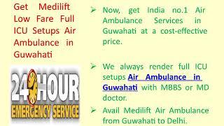 Avail Reasonable Cost Air Ambulance in Kolkata by Medilift