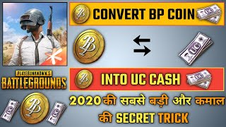 HOW TO CONVERT BP COINS INTO UC CASH FOR FREE PUBG MOBILE