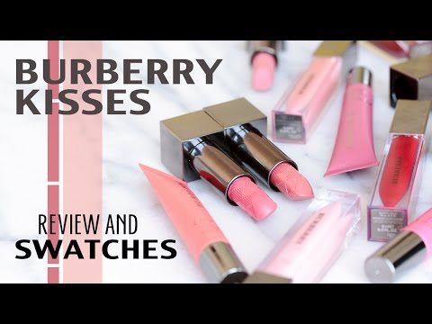REVIEW | Burberry KISSES Balm, Gloss, Lipstick + Swatches