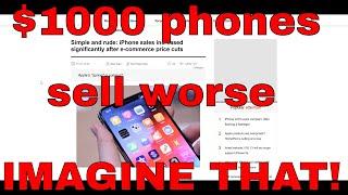 Smartphone sells better when not $1000? WOW!!