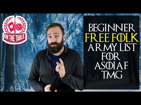 Beginner List for the Free Folk in ASOIAF tmg