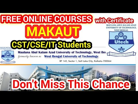 Free online course with Certificate for Computer Science ... - YouTube
