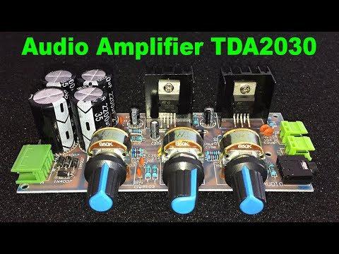 TDA2030 Audio Amplifier DIY 18X2 Watt [Electronic KIT Assembly] – By STE