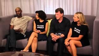 Interviews Cast - Comic Con 2012