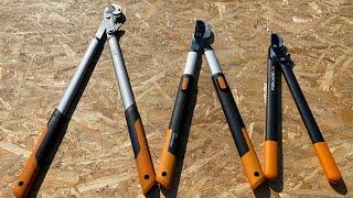 Fiskars Lx 99 , L 86 , L 74 power gear X loopers.(foarfece de gradina pentru taiat crengi.)