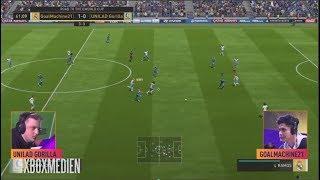 FIFA 18 FUT Champions  Manchester Huge Gorilla vs GoalMachine21 Highlights