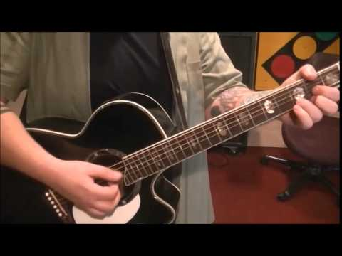 Old 97's - Question - Acoustic Guitar Lesson by Mike Gross(rockinguitarlessons.com)