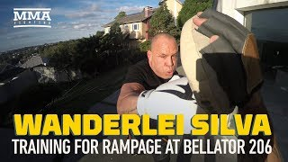 Wanderlei Silva Training for Bellator 206 Fight With