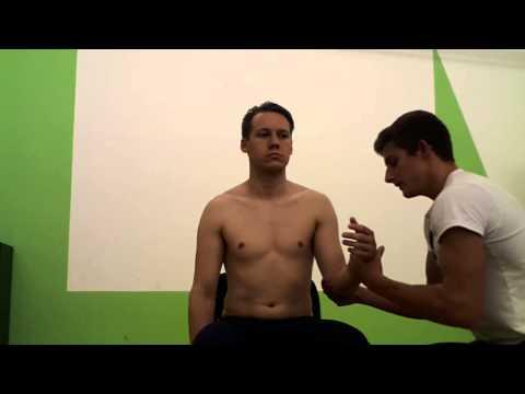 Behandlung in Vorsprüngen der Wirbelsäule