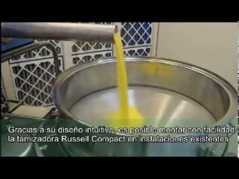 Tamiz Industrial - Cribado del maíz - Russell compacto tamiz