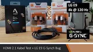 Neues HDMI Kabel für HDMI 2.1? + LG C9/E9 G-Sync Bug