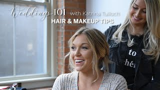 Wedding beauty 101: Hair, makeup tips and trends for your big day