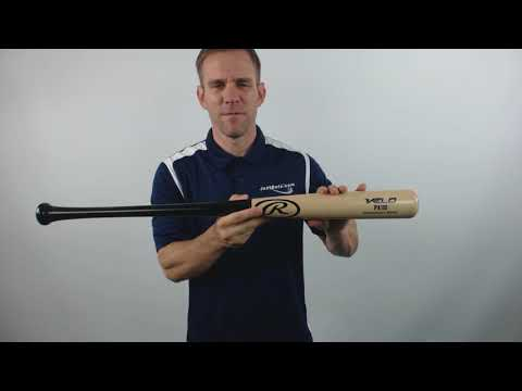 Rawlings VELO Maple Wood Baseball Bat: PA110 Adult