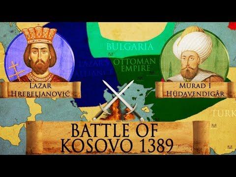 КАКО ЈЕ ЗАПРАВО ИЗГЛЕДАЛА КОСОВСКА БИТКА?! Странци направили АНИМАЦИЈУ најпознатијег српског боја која СВЕ ОБЈАШЊАВА (ВИДЕО)