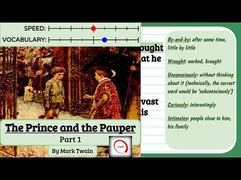 Learn English Through Story Level 5 - The Prince and the Pauper Part 1 [Subtitles, American Accent]