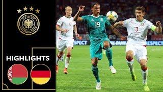 Sané & Reus Treffen Zum Sieg! | Weißrussland - Deutschland 0:2 | Highlights | EM-Qualifikation