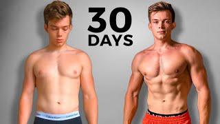 I got SHREDDED in 30 days | Body Transformation (Documentary)