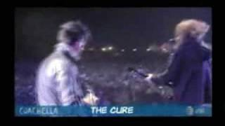 THE CURE PUSH LIVE