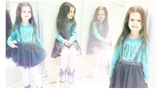 Vlog. Детский шопинг Поля в магазине одежды