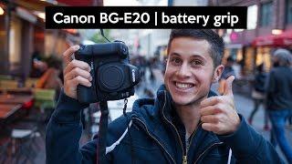 Canon BG-E20 hands on | Canon EOS 5D Mark IV battery grip review english
