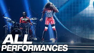 All Of Flau'Jae's Full Performances On AGT - America's Got Talent 2018