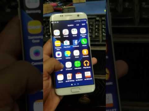 Galaxy S7 edge SCV33 Sim Unlock Done - смотреть онлайн на