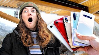 Guess the Phone, Get the Phone! – iPhone vs Samsung vs Huawei vs Pixel
