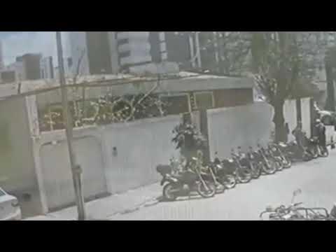 Vídeo mostra o momento em que edifício desaba em Fortaleza, nesta terça-feira