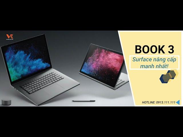 Surface book 3 : Phiên bản nâng cấp mạnh nhất của Microsoft