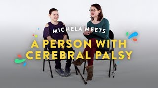 Kids Meet A Person with Cerebral Palsy (Michela) | Kids Meet | HiHo Kids